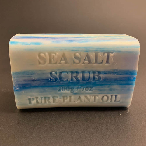 200g Pure Natural Plant Oil Soap - Sea Salt Scrub