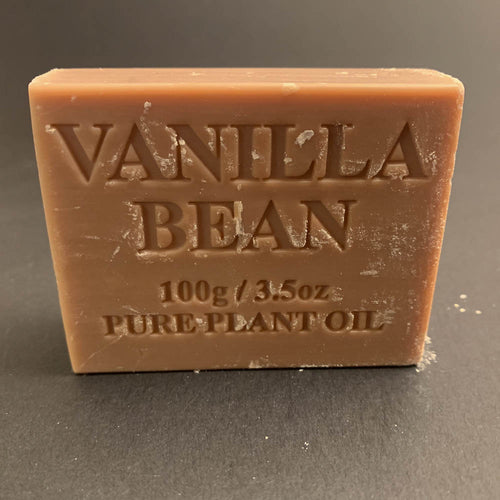 100g Pure Natural Plant Oil Soap - Vanilla Bean