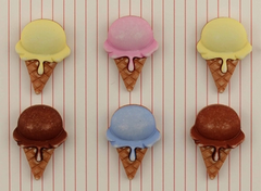 Buttons - Ice Creams