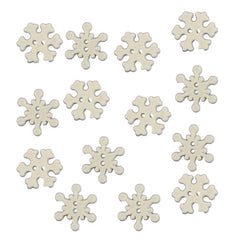 Buttons - Snowflakes