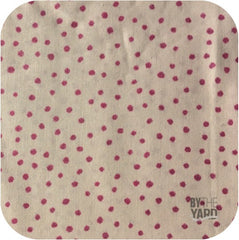 Scattered Glitter Dots - Tickle Me Pink