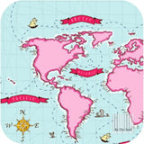 Out to Sea - Nautical Map in Breeze