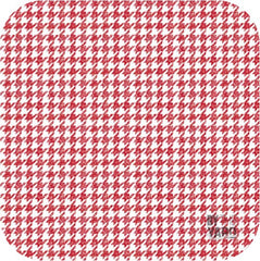 Meadow Sweets - Houndstooth in Red