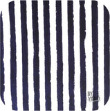 Rough Stripe in Navy