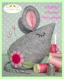 Two Brown Birds - Matilda Mouse Pincushion