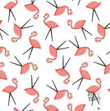 Let's Go Glamping! - Flamingo Toss in White
