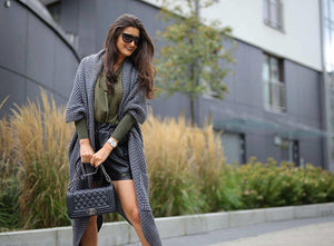 Asymmetrical Long & Warm Sweater Coat