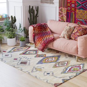 Morocco Nordic Geometric Kilim Carpets for Fiving Room Area Rugs Large Indian Anti-slip Bedroom Carpet Kids Room Home Floor Rug