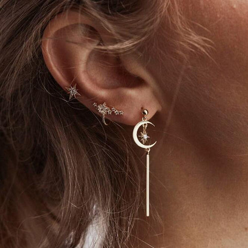 Bohemia Women Retro Silver Ear