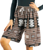 Cotton Tribal Boho Shorts Hippie Shorts Gypsy