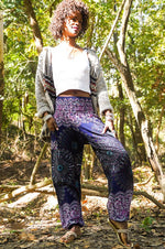 PEACOCK Women Boho Pants Hippie Pants Yoga Pants