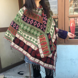 Poncho  Ponchos  Hooded Ponchos   Hippie Clothing  Festival Clothing  Unisex Adult Clothing  Jackets & Coat  Men's Hippie Clothing Nepal