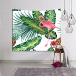 Flamingo Hippie Fashion Home Decor Wall Tapestry