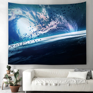 Galaxy Hanging Wall Tapestry Hippie