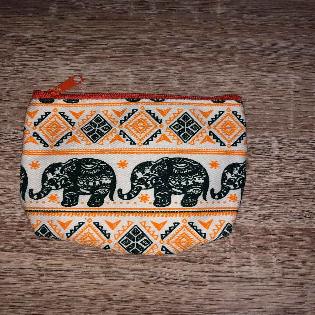 Purse ~ Orange.my-bohemian.myshopify.com