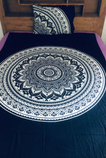 White Mandala - Single Doona Cover Set