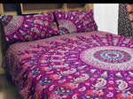 Purple Swirl - King Doona Cover Set
