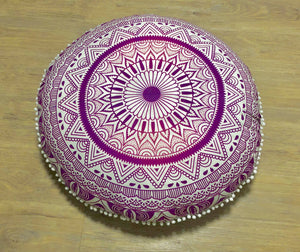 Pink Passion Floor Cushion.my-bohemian.myshopify.com
