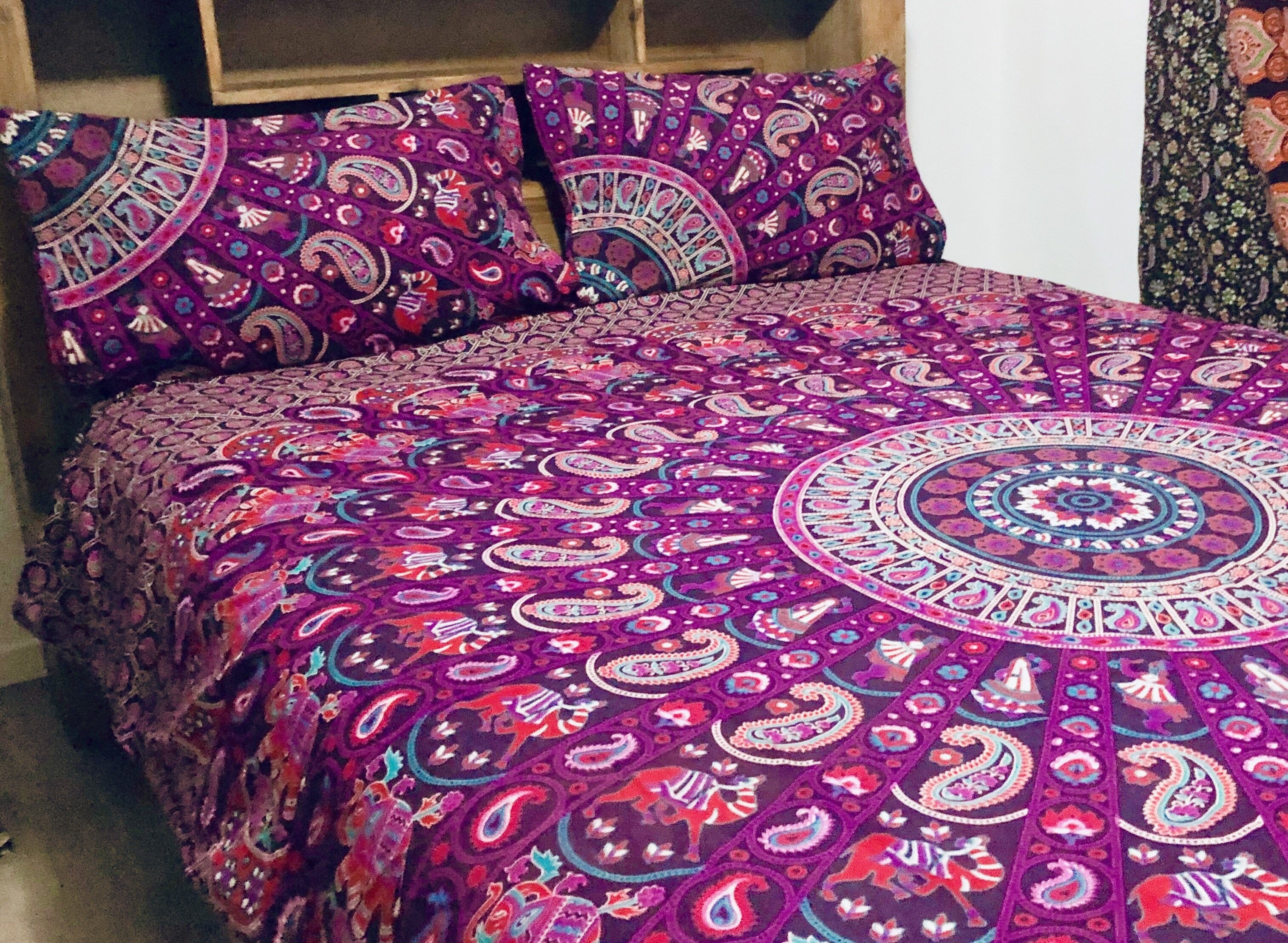 Purple Swirl - Queen Doona Cover Set