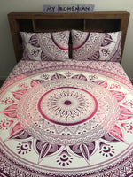 Purpink Flower - King Doona Cover Set