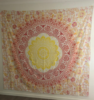 Ombré Flower - Wall Tapestry
