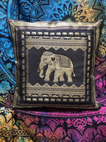 Black Elephant Cushion