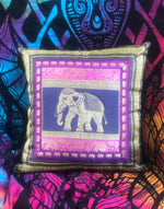Purple Elephant Cushion