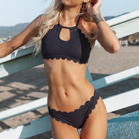 Bikini Mood tropical dark blue