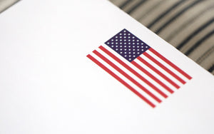 Luxe Expressions Notepad US Flag