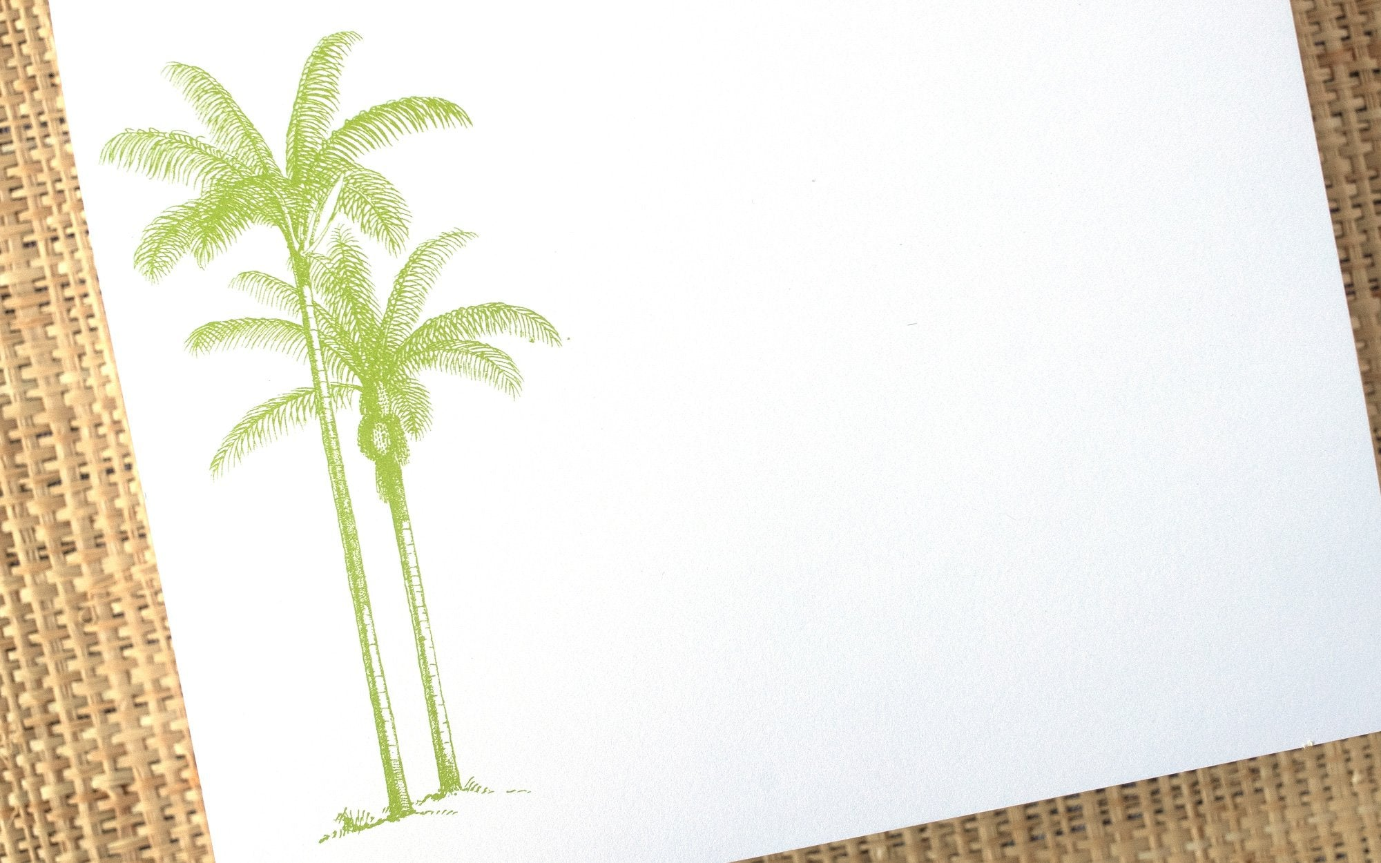 Luxe Expressions Notepad - Palm Tree