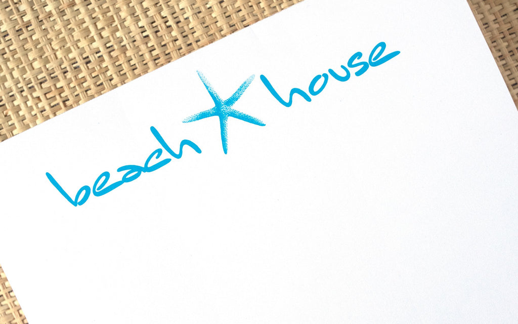 Luxe Expressions Notepad - Beach House