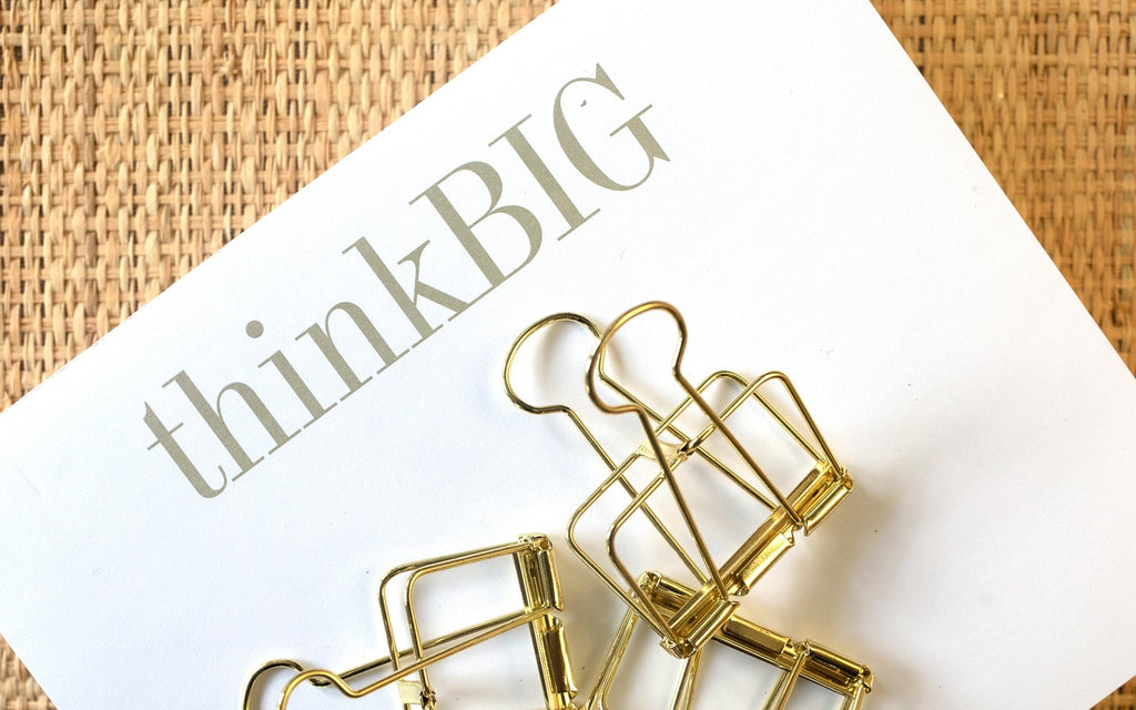"Luxe Expressions Notepad ""Think Big"""