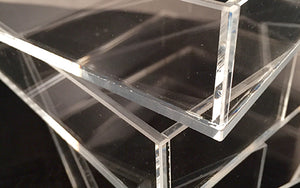 "Lucite Tray - Small ""Paddie"""