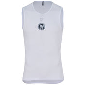Unisex Short Sleeve Base Layer Vent White