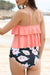 Flower Print Cute Tankini Set
