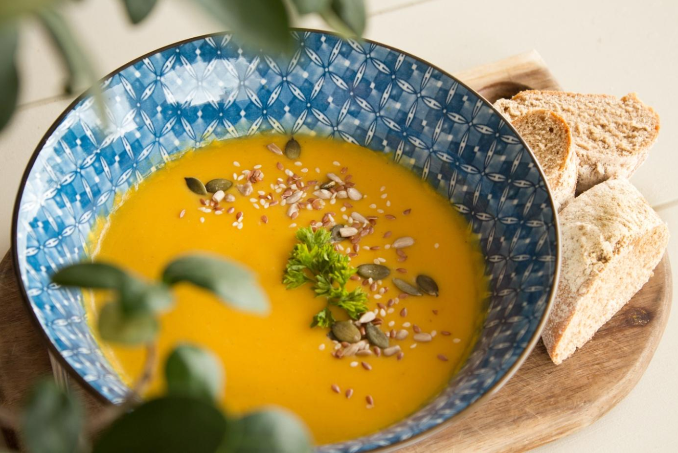 """Oh-So-Creamy"" Health Boosting Soup"