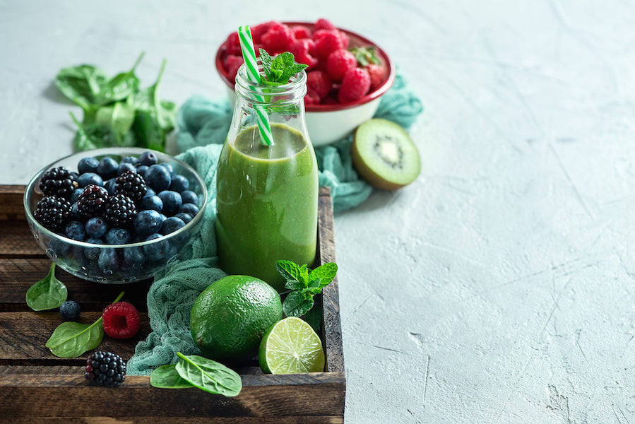 No-Veggie Green Smoothie For Increased Energy