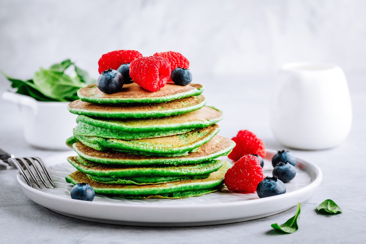 Green Goddess Pancakes Recipe For A Guilt-Free Breakfast