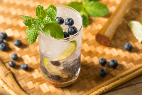 blueberry lemonade for the fourth of july