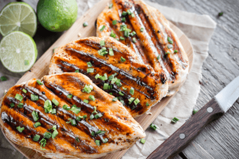 Fourth of July food: grilled lime chicken recipe