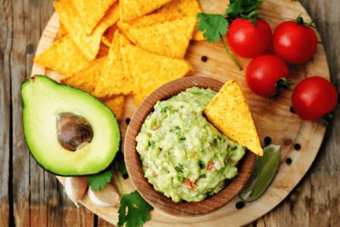 Foods for fourth of July - guacamole