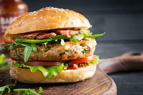 Independence Day Turkey Burgers