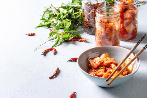 Kimchi for better digestive health