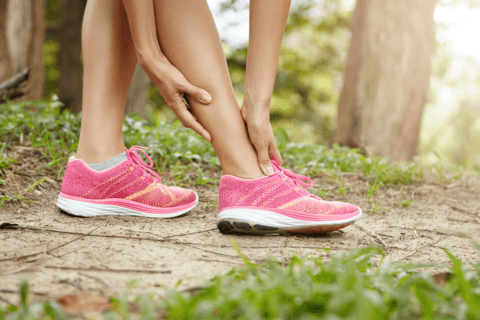 Ankle joint discomfort