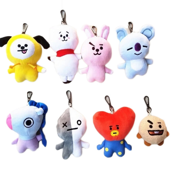 Soft Plush Key Chain