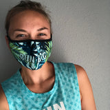 Run Big/Run Aloha Reversable Mask