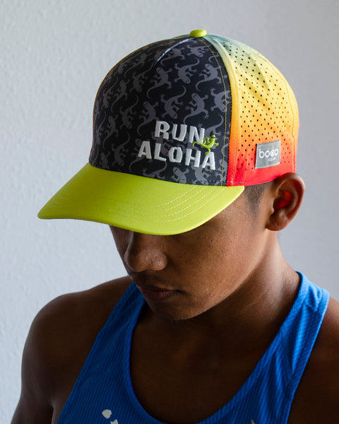 Run Aloha BOCO Trucker - Rainbow