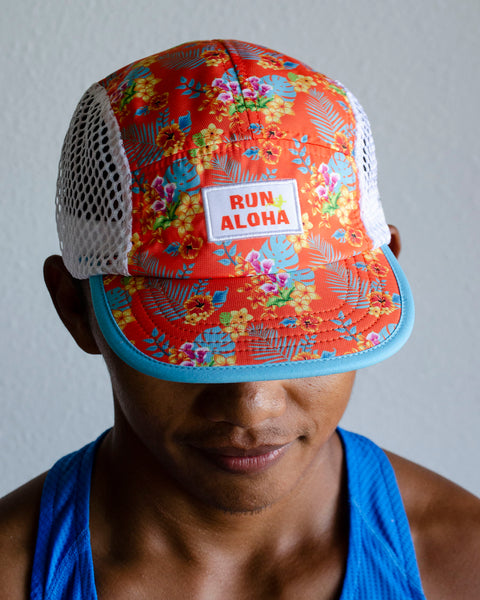 Run Aloha BOCO Endurance Hat - Floral