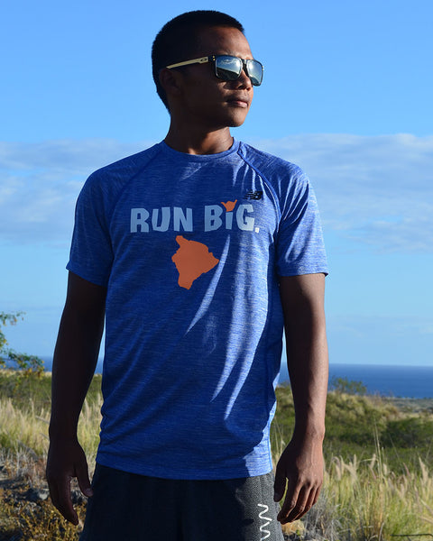 M's Run Big NB Tenacity Tee - Team Royal