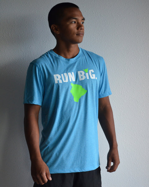 M's Run Big Inspire SS - Diva Blue